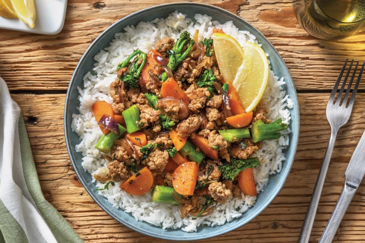 Vietnamese-Style Pork Larb