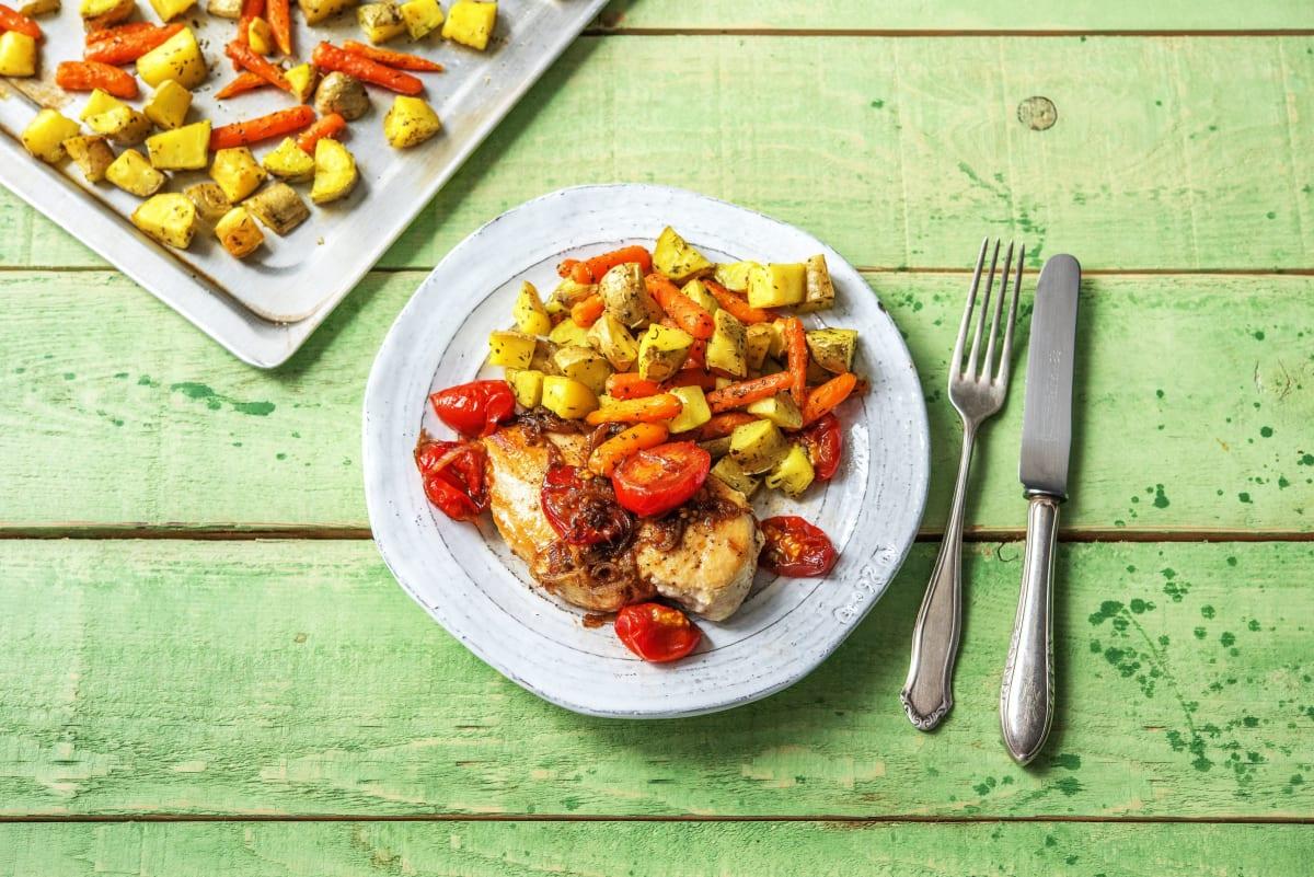 Balsamic Chicken Rustico