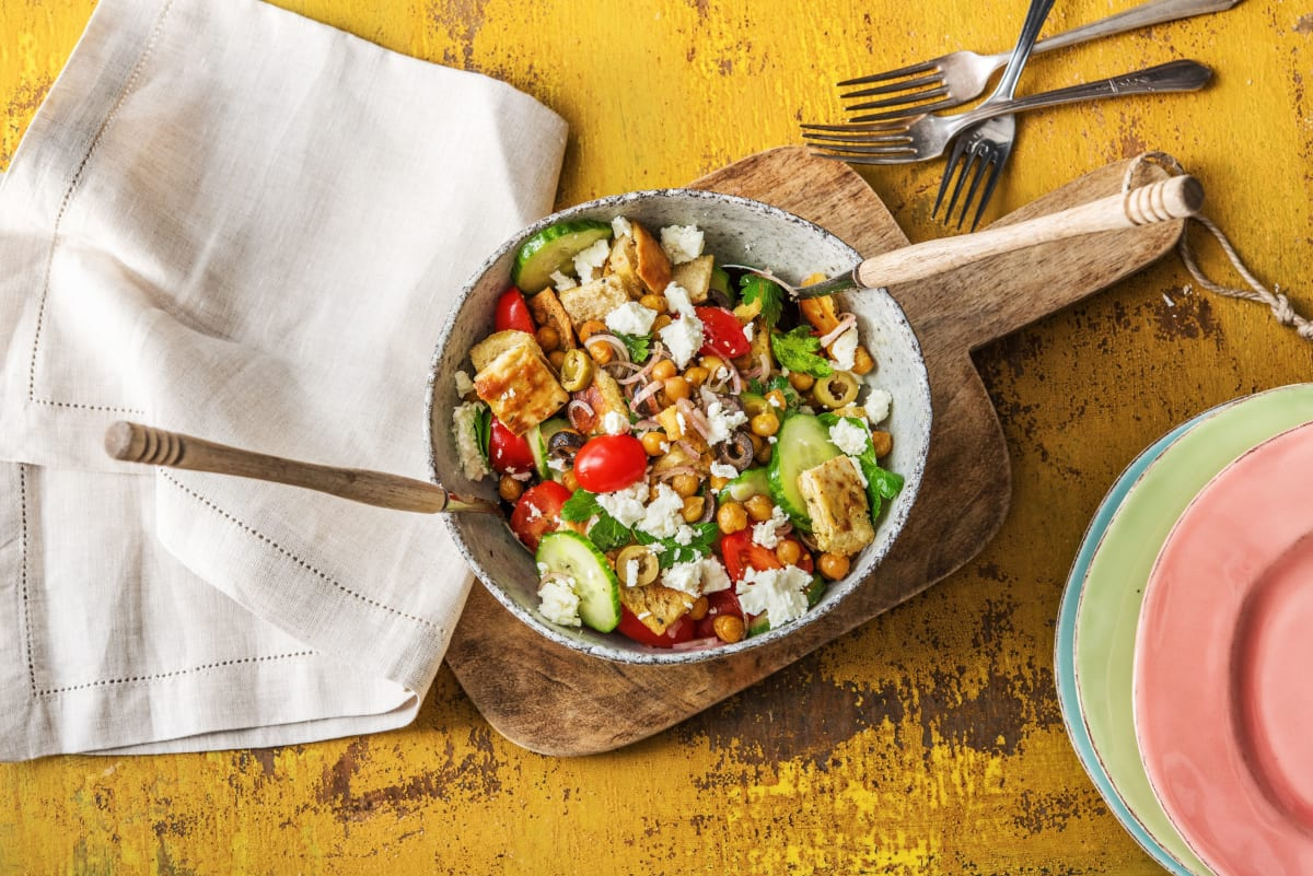 Flatbread Fattoush Salad