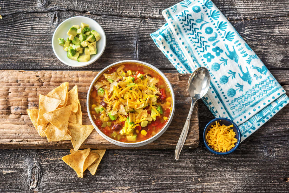 One-Pot Tortilla Soup