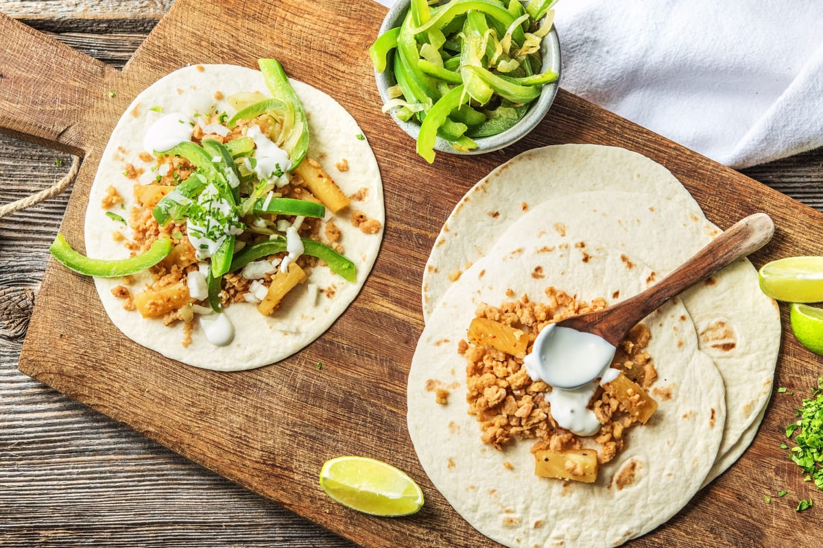 Seitan Tacos Al Pastor