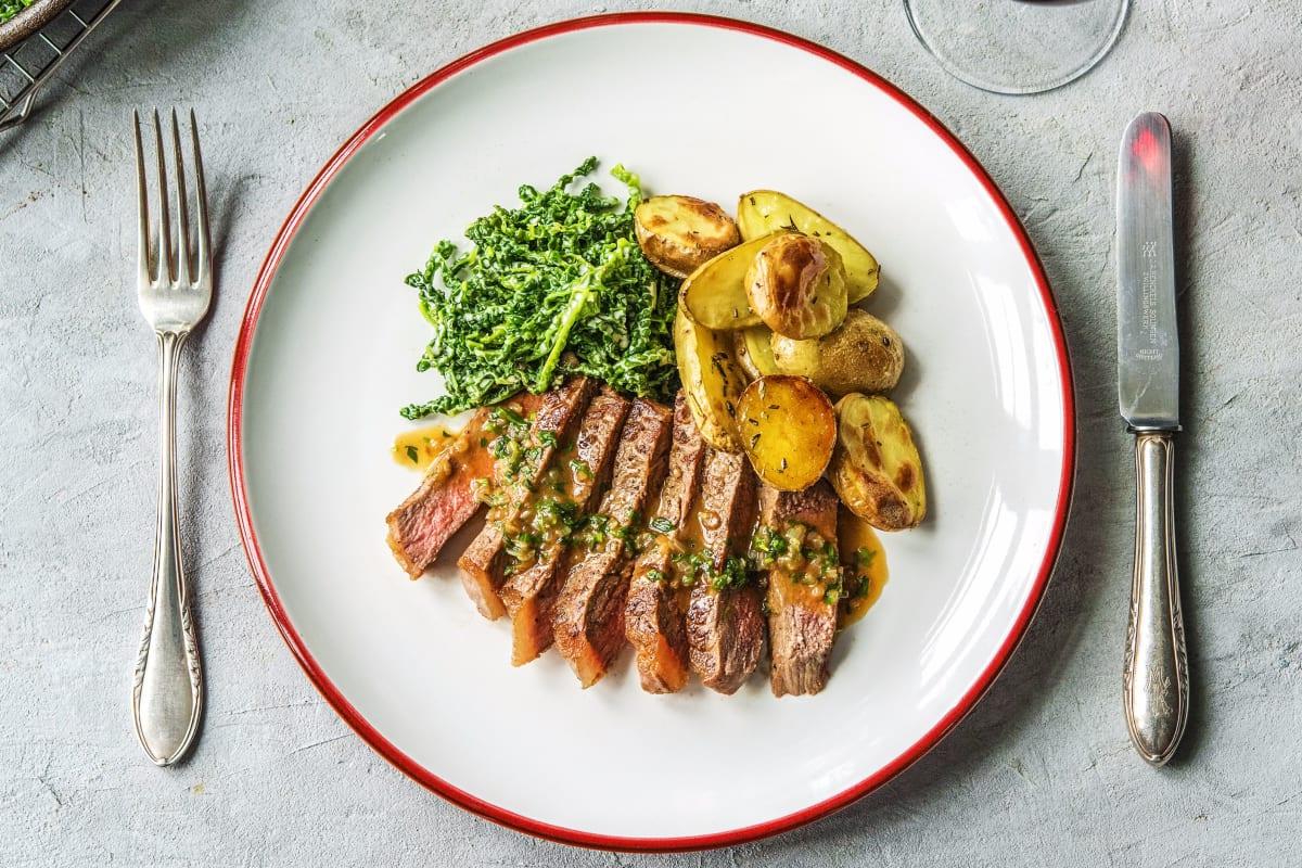 Strip Steak Bearnaise