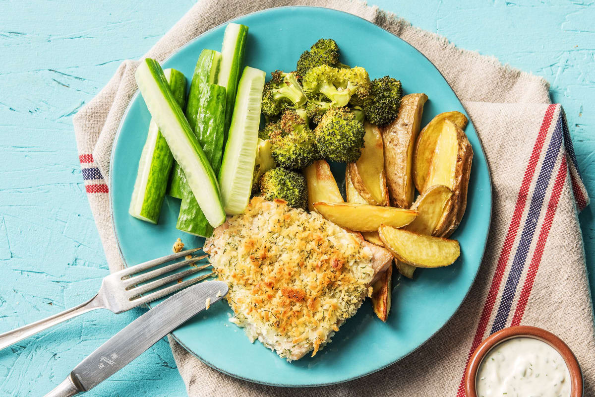Lighter Fish and Chips