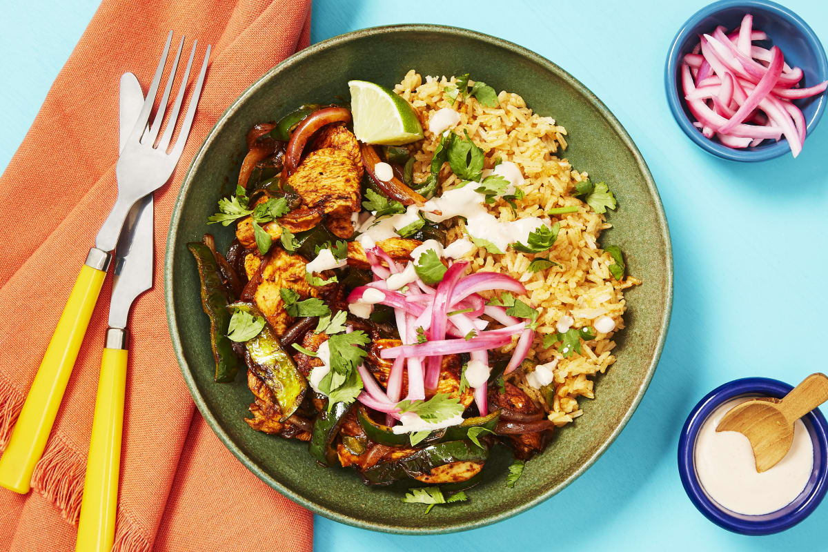 Yucatan Citrus Chicken Bowls