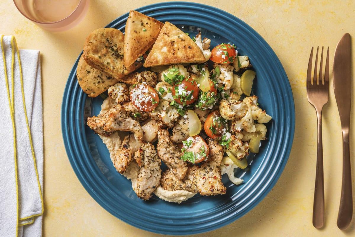 Za'atar Turkey Mezze Platter