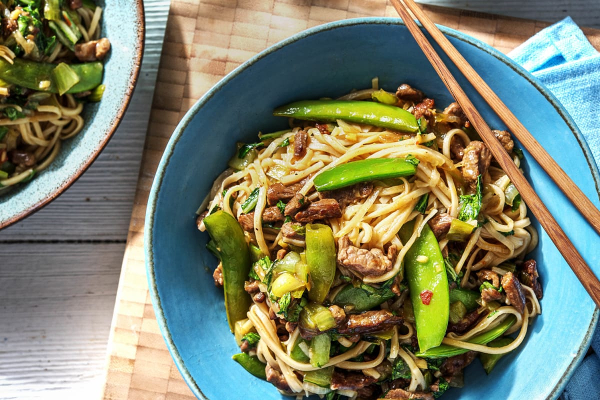 Zesty Hoisin Chili Beef