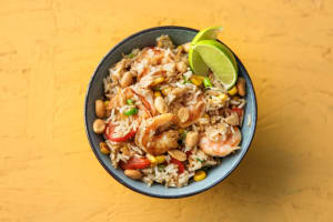 Toasted Rice and Shrimp Bowl image