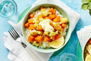 Curry-Spiced Cauliflower and Squash image