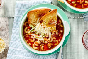 Vegetable Minestrone Soup image