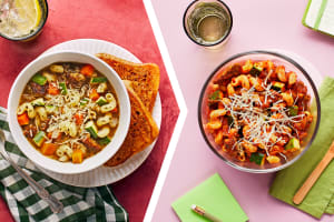 Italian Chicken Sausage and Veggie Soup for Dinner image