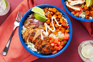 Chipotle Chicken and Rice Bowl image