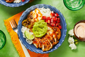 Chicken and Guac Burrito Bowls image
