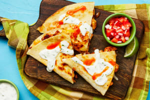 Baja Chicken Quesadillas image
