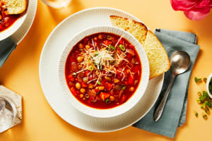 Italian Tomato and Chickpea Soup image