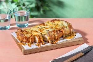 Four Cheese Garlic Focaccia Bread image