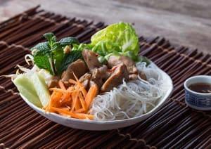 Vietnamese Chicken Noodle Salad image