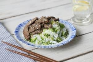 Sizzling Sesame Korean Beef image