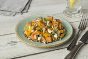 Roasted Vegetable and Feta Medley image