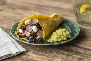 Chipotle Black Bean Tacos image
