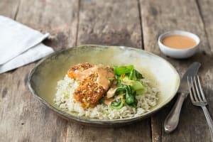 Sesame-Crusted Tofu image