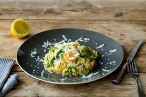Spring Asparagus & Shrimp Risotto image