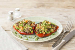 Indian Stuffed Peppers image