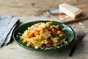 Burst Tomato & Squash Fusilli image