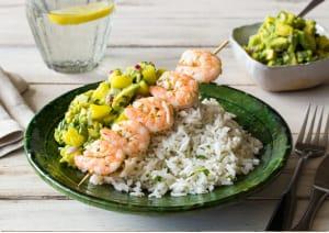 Charred Shrimp Skewers image
