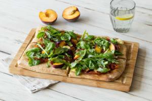 Peach and Prosciutto Flatbread image