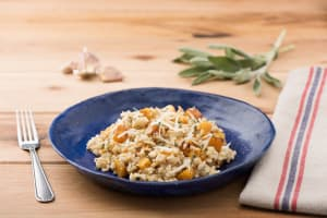 Autumn Risotto with Butternut Squash, Sage, and Pepitas image