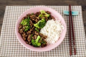 Family Korean Beef Bulgogi with Broccoli image