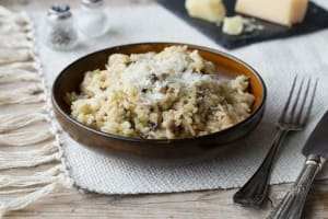 Wild Mushroom & Thyme Risotto image