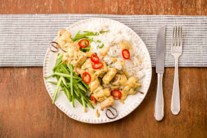 Chicken Satay Skewers image