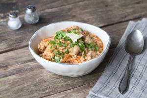 Herby Sausage Risotto image