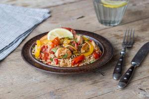 Chicken & Chorizo Paella image