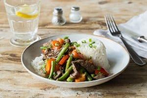 Lemongrass Beef Stir-Fry image