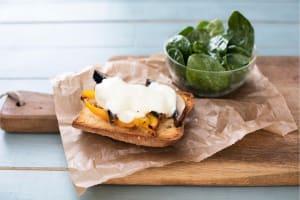 Open-Faced Portobello Sandwiches image