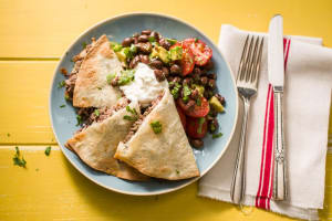 Cheesy Beef Quesadillas image