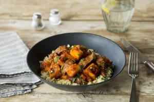 Moroccan Beef & Pumpkin Tagine image