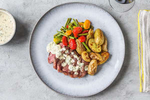 Creamy Bearnaise Strip Steak image
