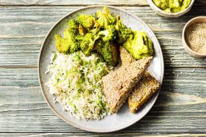 Würziger Tofu mit Sesamkruste, image