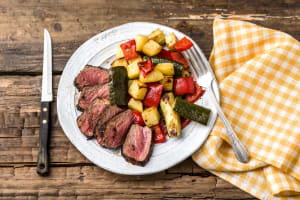 Quick-Marinated Steak image