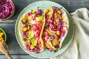Scharfe Tacos mit mariniertem Tofu, image