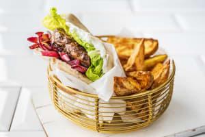 Marokkanische Rindfleisch-Burger image
