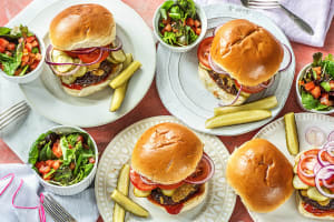Cheddar Smash Burgers image