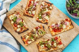 Italian Pork Sausage Pizzas image