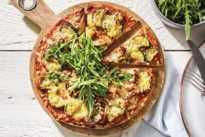 Roasted Pesto Veggie Pizza image