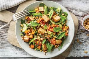 Peking-Style Tofu & Sweet Chilli Pumpkin Salad image