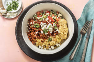 Moroccan Spiced Beef & Feta image