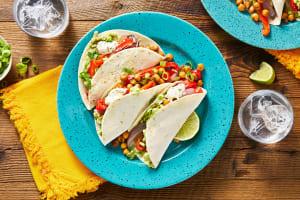 Crispy Chickpea Tacos image